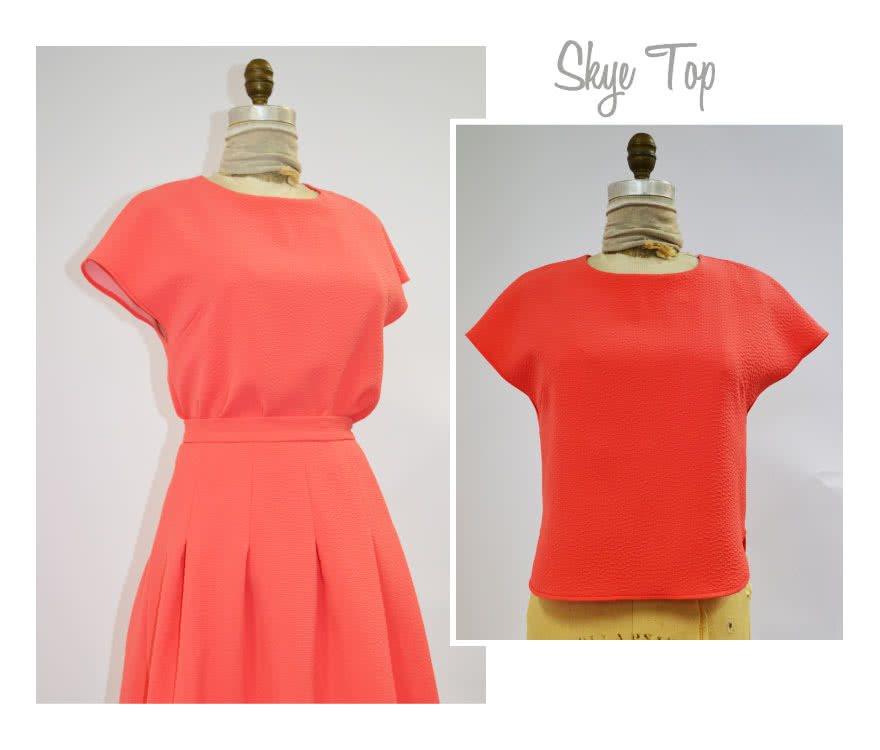 Skye Top Sewing Pattern By Style Arc - A fashionable top for every body