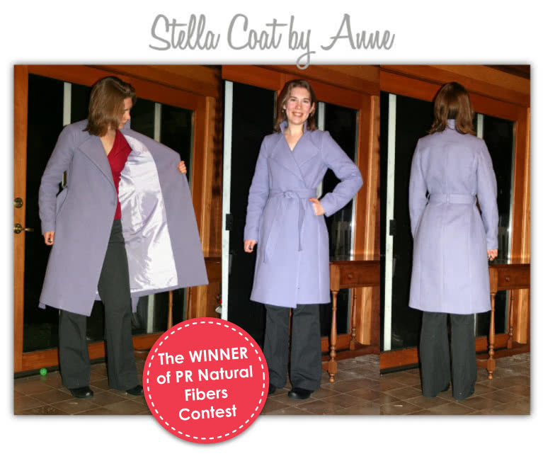 Stella Coat Sewing Pattern By Anne And Style Arc - Luxurious, versatile, easy to wear wrap coat