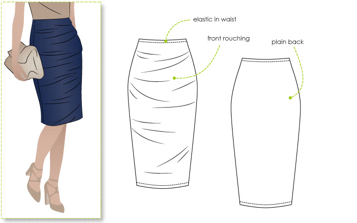 Style Arc's Ali Pencil Skirt Pattern