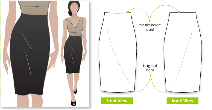 Style Arc's Fay Pencil Skirt Pattern