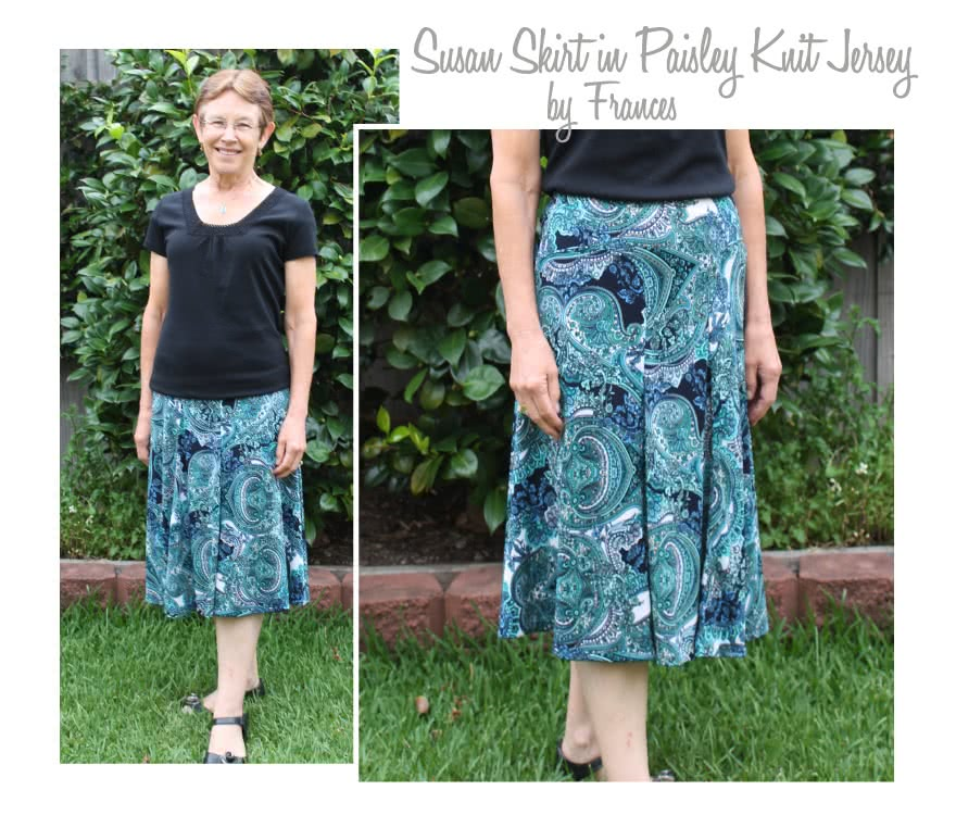 Gorgeous Gore Skirt Sewing Pattern By Style Arc