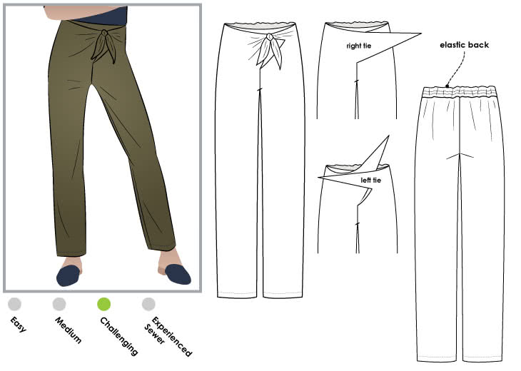 Trudy Pant Style Arc