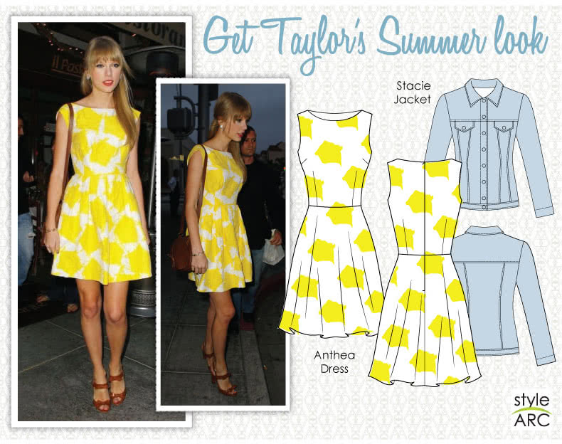 Celebrity Style Sewing Patterns - May 2014 - Taylor