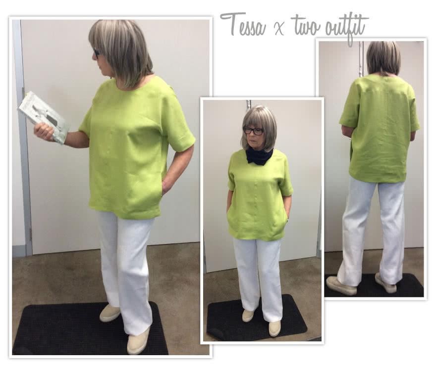 Tessa X Two Sewing Pattern Bundle By Style Arc