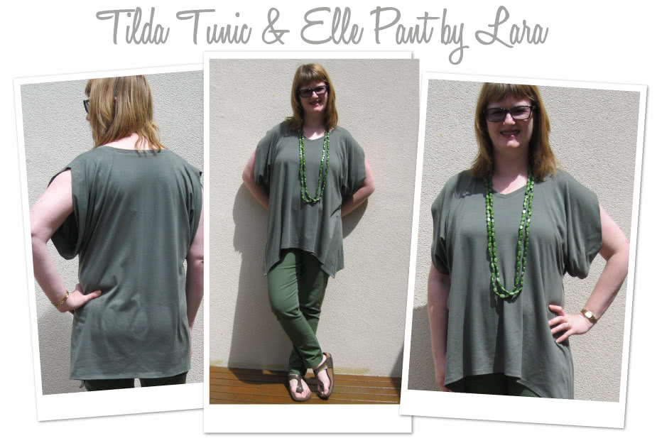 Tilda Tunic / Top Sewing Pattern By Lara And Style Arc - Great knit over Tunic with the look of the moment