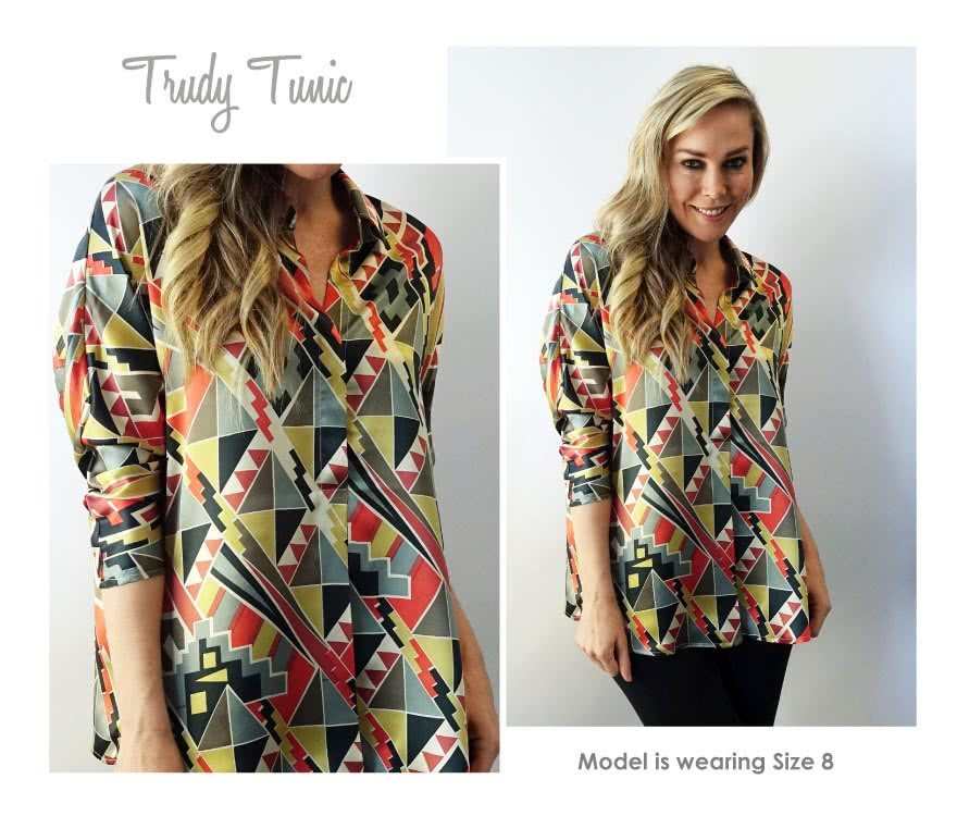Trudy Tunic Sewing Pattern By Style Arc