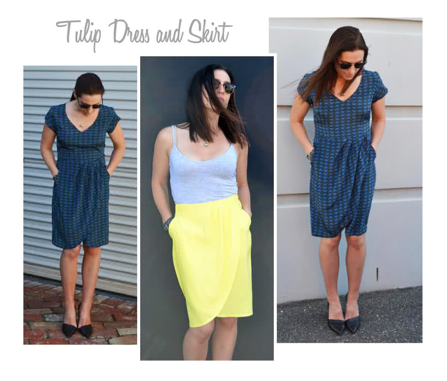 Tulip Dress Sewing Pattern By Style Arc