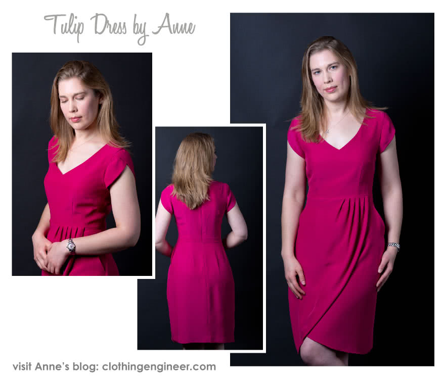 Tulip Dress Sewing Pattern By Anne And Style Arc