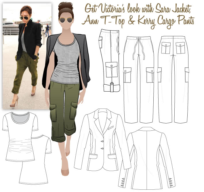Victoria's Look No.2 Sewing Pattern Bundle By Style Arc