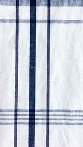 White Check Linen Fabric By Style Arc - Linen fabric in white check print