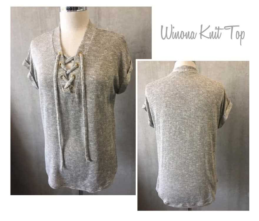 Winona Knit Top Sewing Pattern By Style Arc