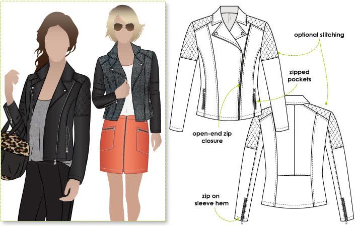 Ziggi Jacket – Style Arc