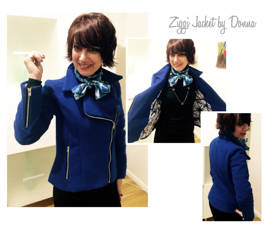 Ziggi Jacket Sewing Pattern By Donna And Style Arc