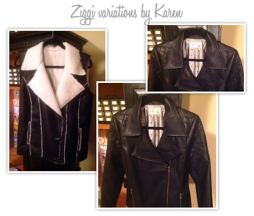Ziggi Jacket Sewing Pattern By Karen And Style Arc