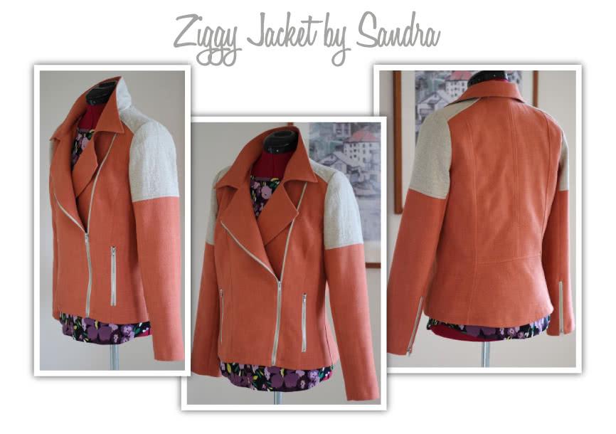 Ziggi Jacket Sewing Pattern By Sandra And Style Arc