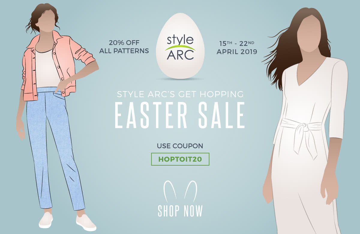 2019 Style Arc Easter Sale coupon code: Hoptoit20