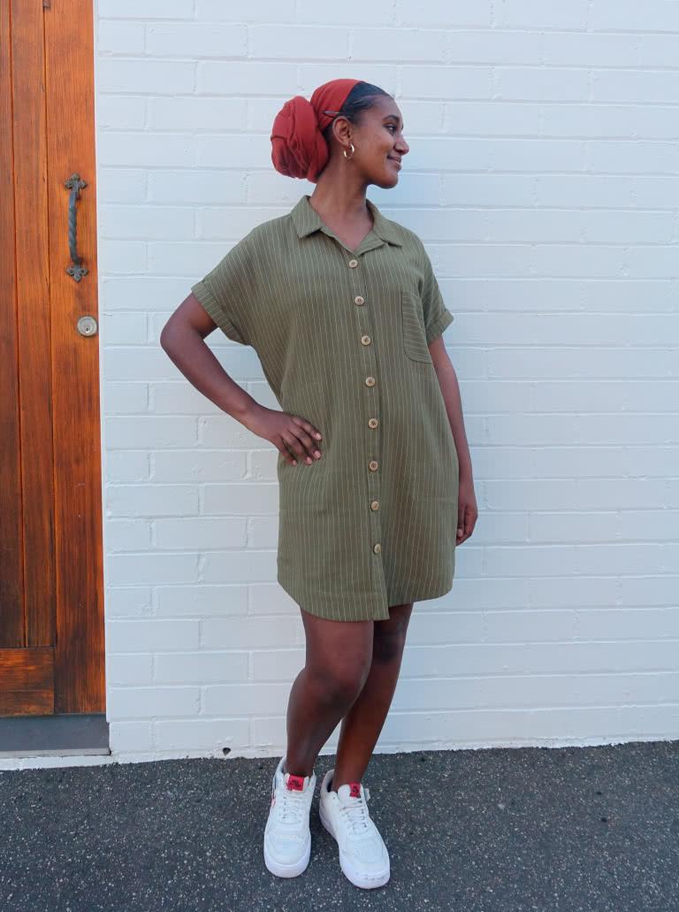 August 2020 Freebie pattern: Max Tunic Dress