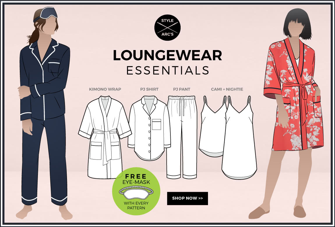 New Loungewear Styles by Style Arc