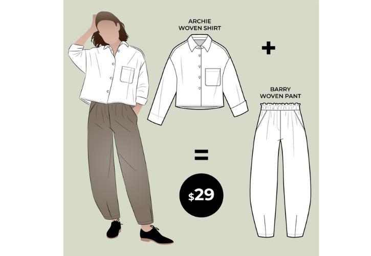Archie Woven Shirt & Barry Woven Pant bundle