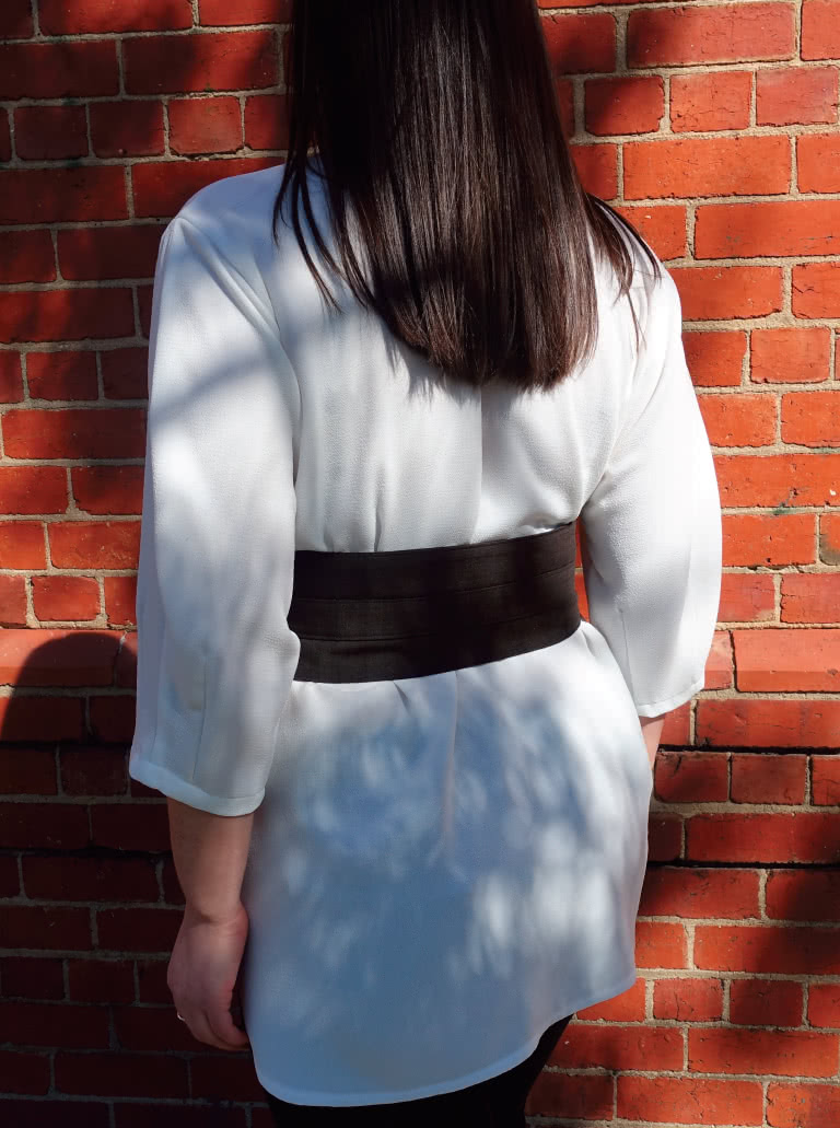 Ascot Belt By Style Arc - Obi inspired belt pattern