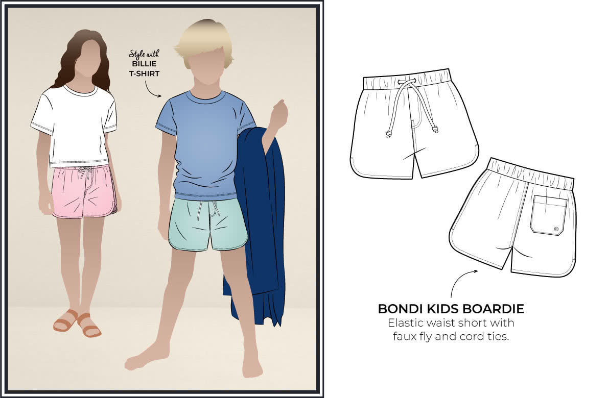 Bondi Kids Boardie