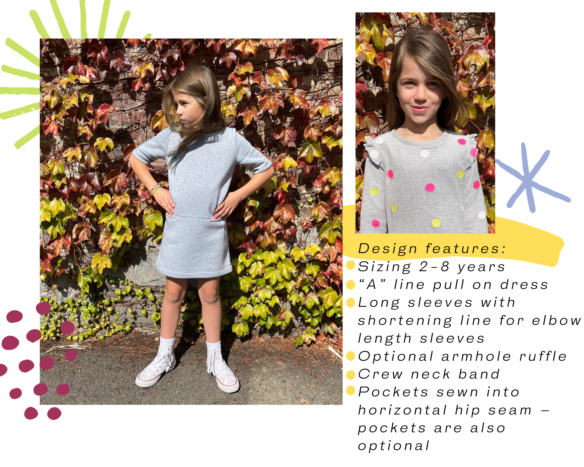 Style Arc Kids Latest Release - Emma Kids Knit Dress