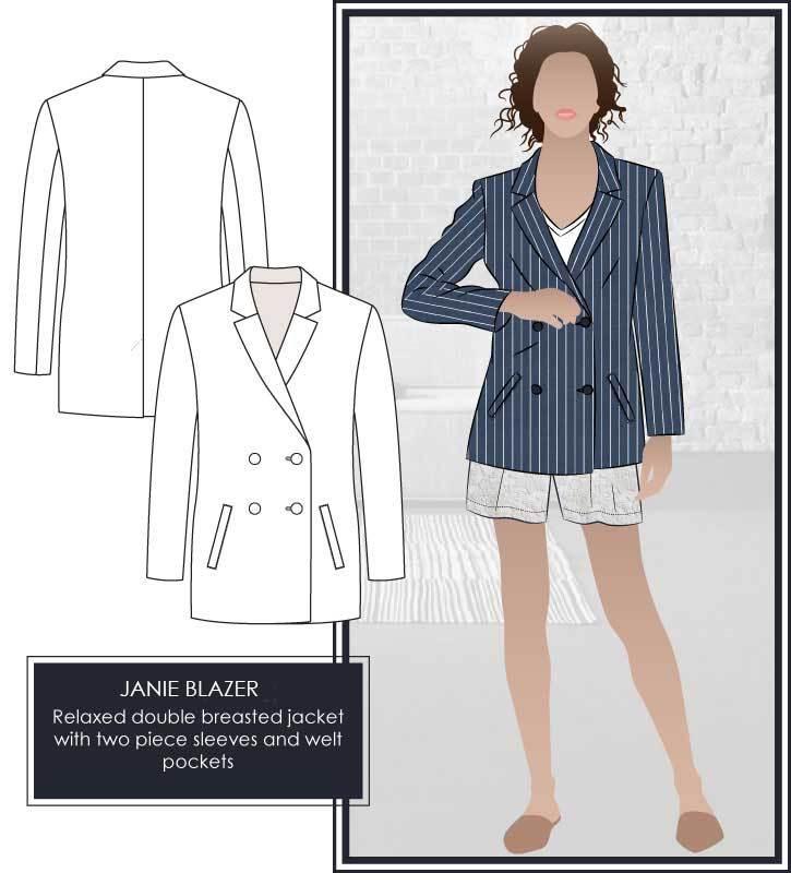 Janie Blazer by Style Arc