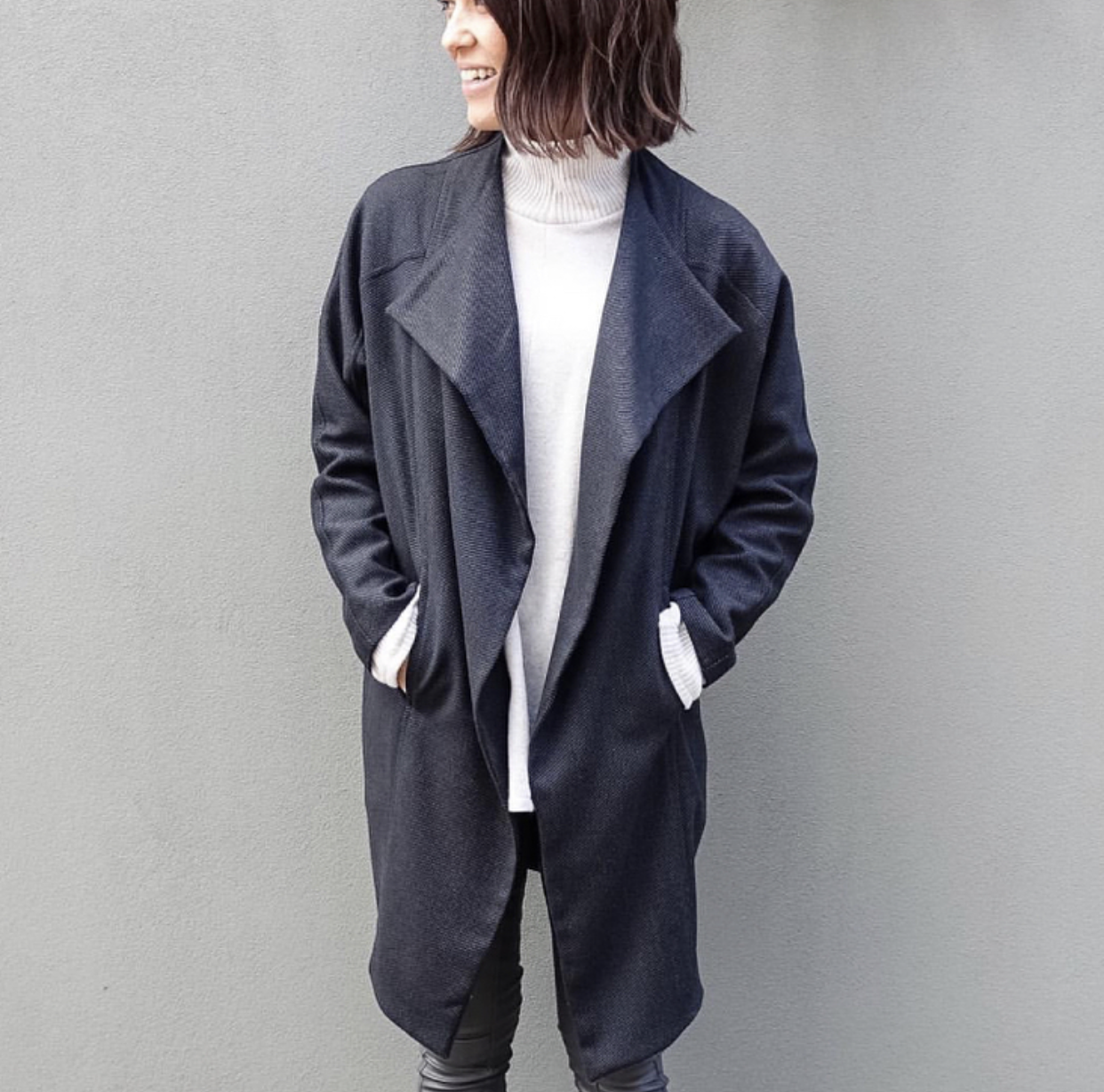 Riley Coat - PDF Jacket Sale On Now! Sale runs from 23-28 September. Coupon Code: 20JKTOFF