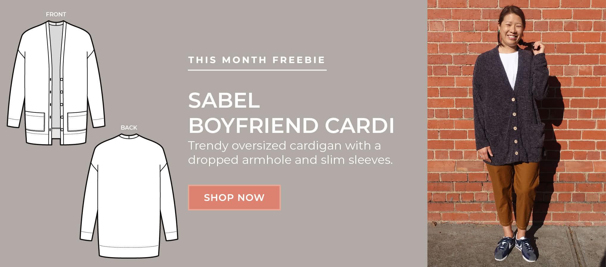 July 2020 Freebie - Sabel Boyfriend Cardi
