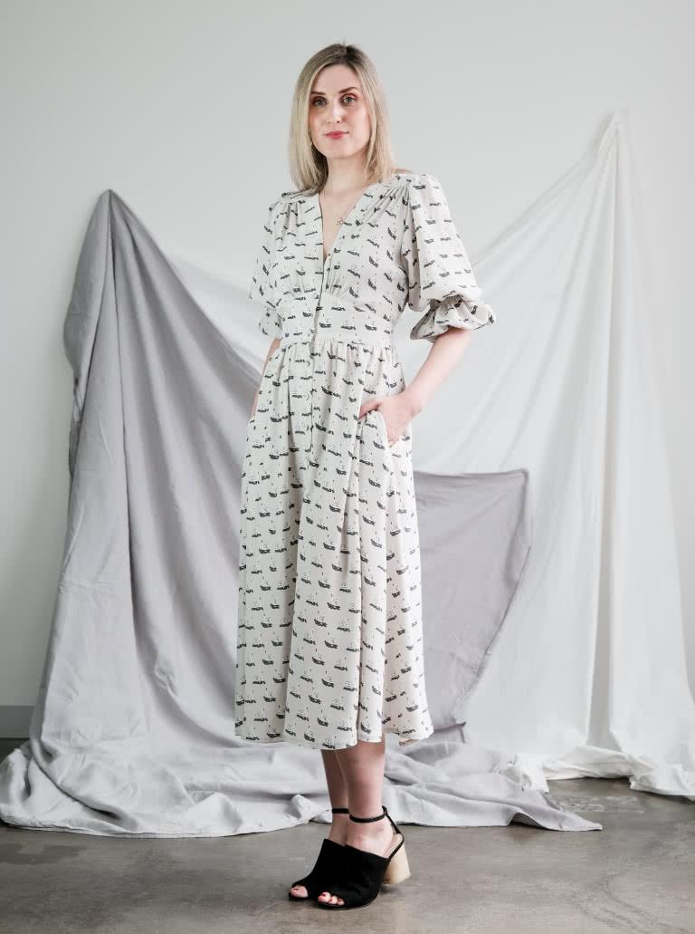 Belle Woven Dress