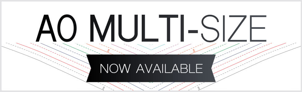 A0 Multi Size patterns now available