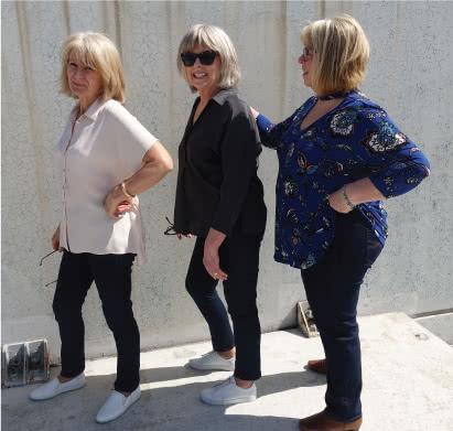 Blakley Stretch Jeans + Stretch Denim Fabric Sewing Pattern Fabric Bundle By Style Arc