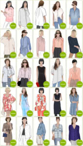 Blouse & Shirt Sewing Patterns