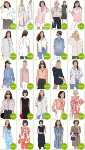 Blouse & Shirt Sewing Patterns