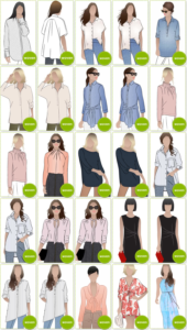 Blouse & Shirt Patterns