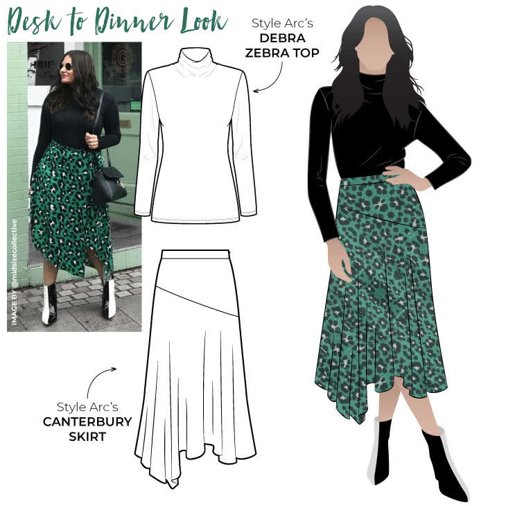 PDF Get the Look - Desk to Dinner Look - Discounted pattern bundle