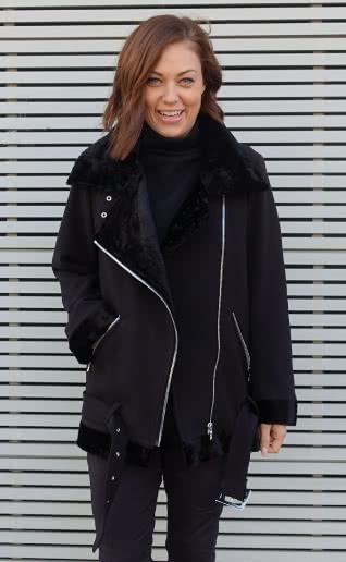 Carly Aviator Jacket Sewing Pattern By Style Arc - Iconic aviator jacket.