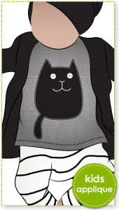 Cats Applique Template By Style Arc - Cats applique template pattern