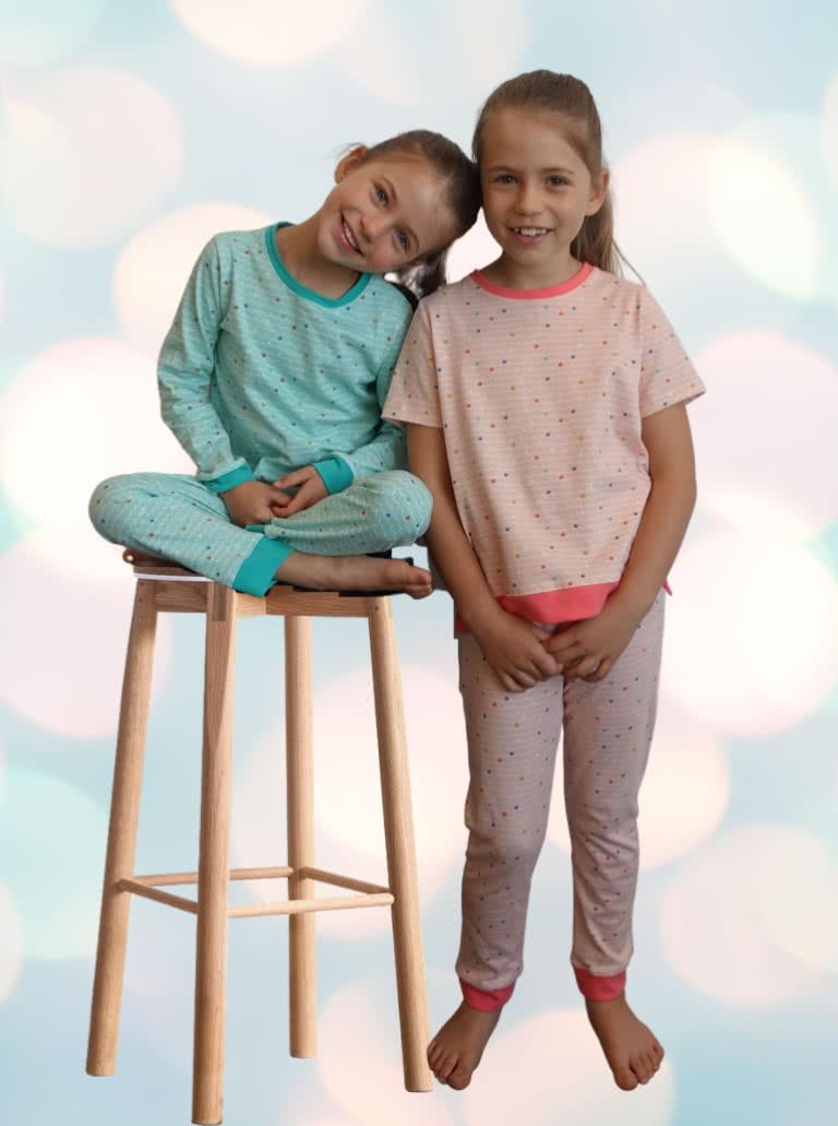 Children's PJ Set By Style Arc - Children's pyjama top and pant set
