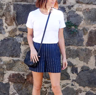 Cora Woven Short Sewing Pattern By Style Arc