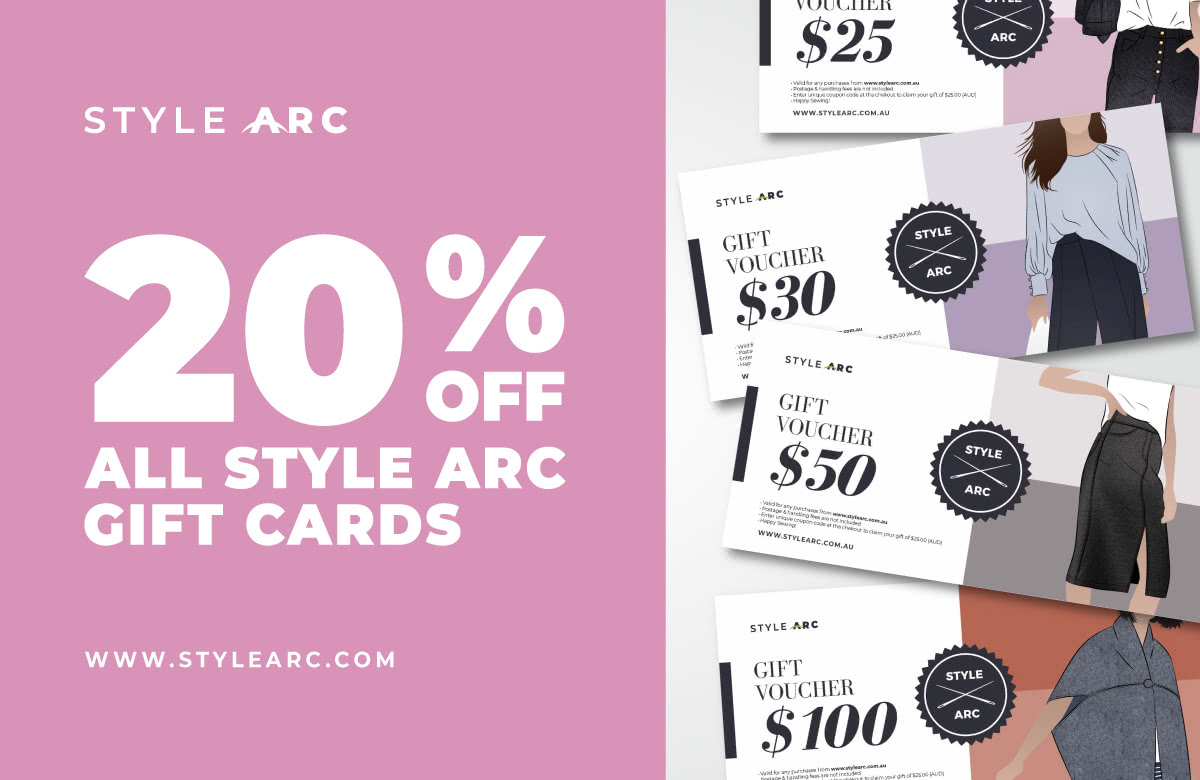 20% OFF GIFT CARDS