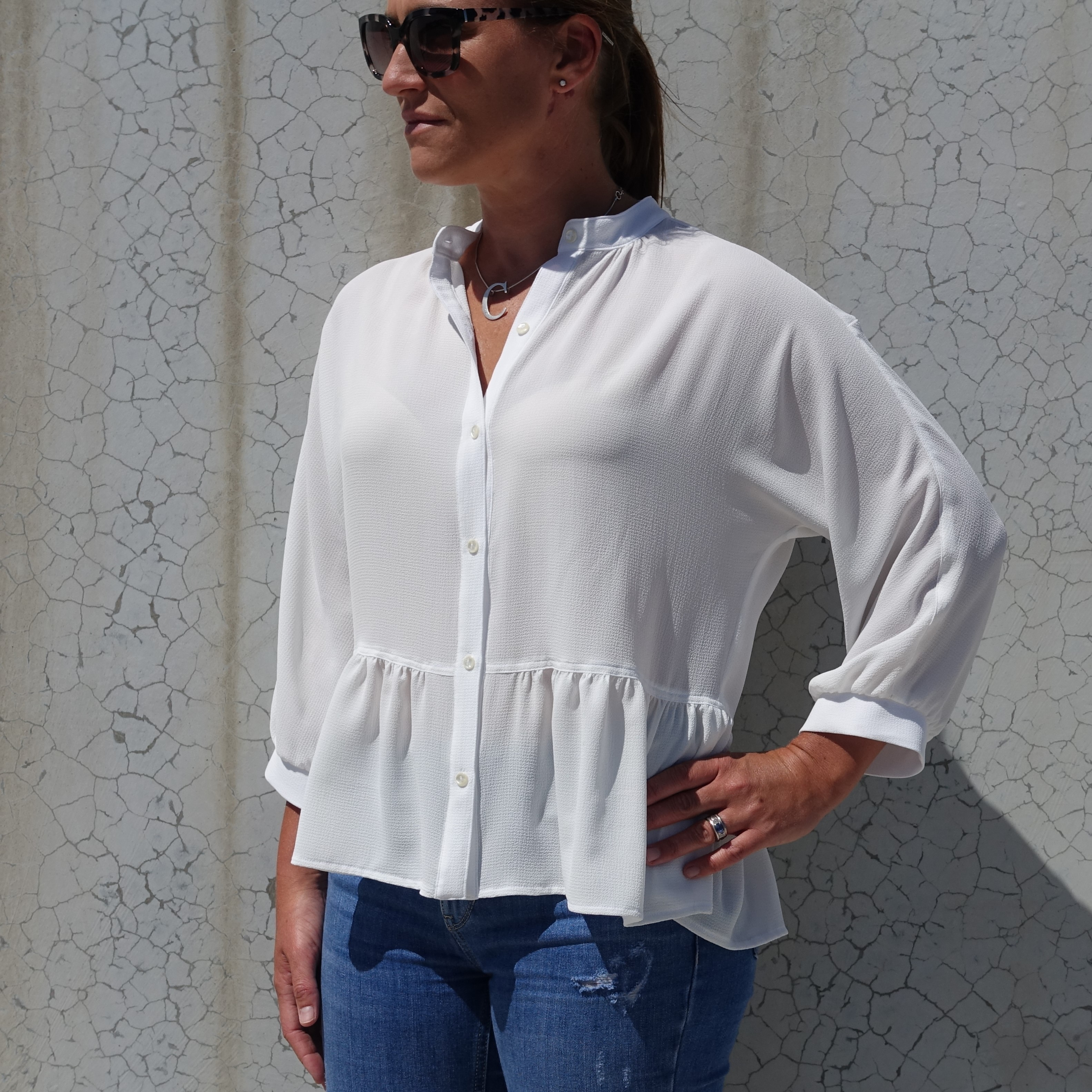 Blossom Woven Top Sewing Pattern by Style Arc