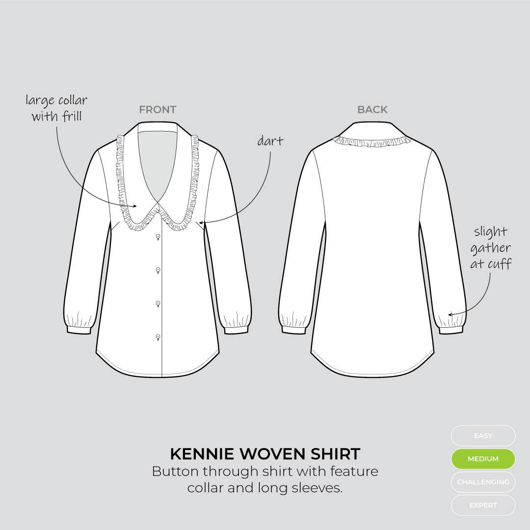 Kennie woven shirt