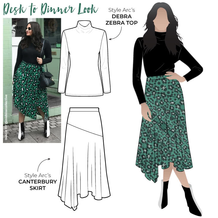 Desk To Dinner Look Sewing Pattern Bundle By Style Arc - Desk to dinner outfits can be tricky but we think our new get the look has got the balance just right.