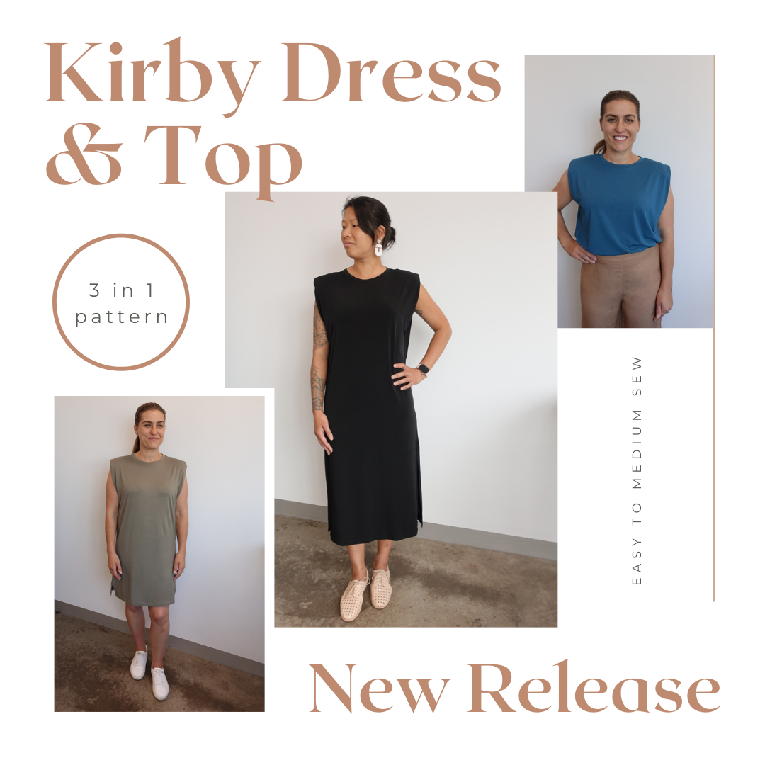 Kirby Dress and Top Pattern - Style Arc's latest release