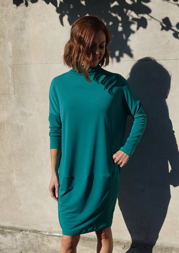 Dry Knit Crepe – Jade Fabric By Style Arc