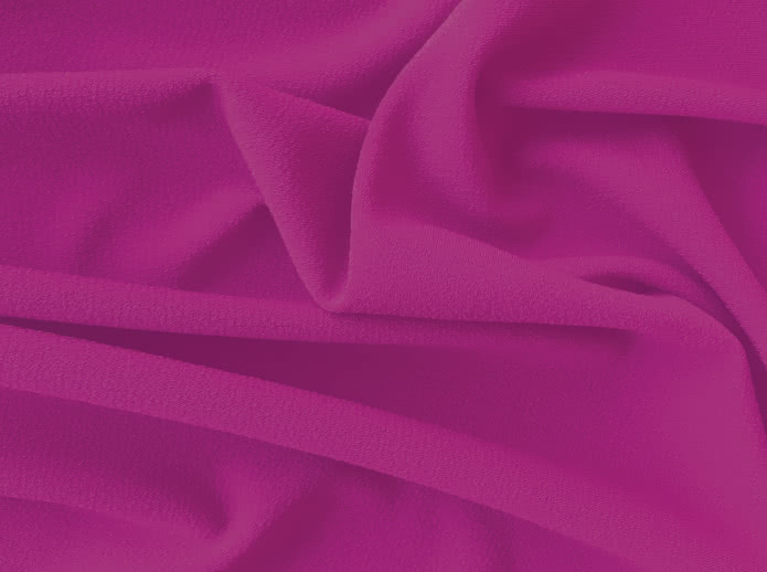 Dry Knit Crepe - Magenta Fabric By Style Arc