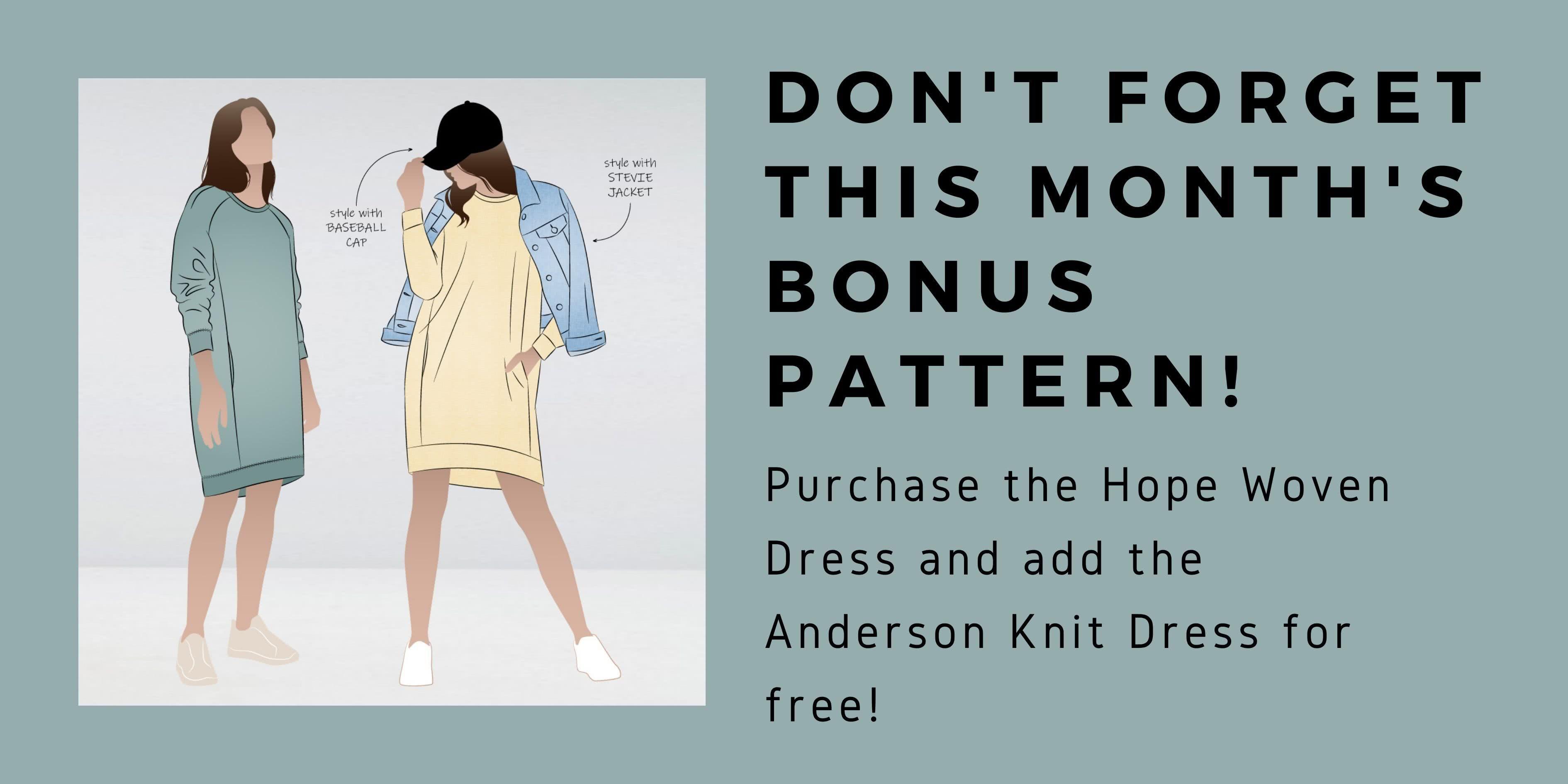 This Month's Bonus Pattern!