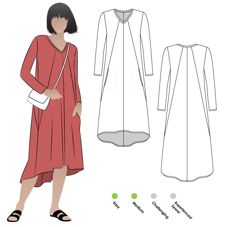Eden Knit Dress Style Arc