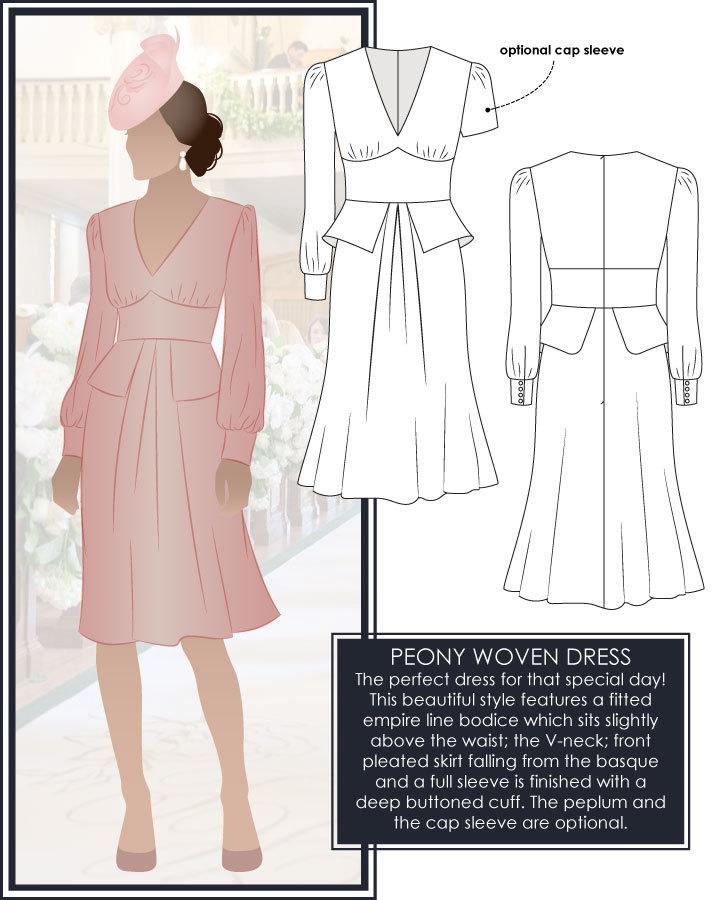 Style ARC: Peony Woven Dress